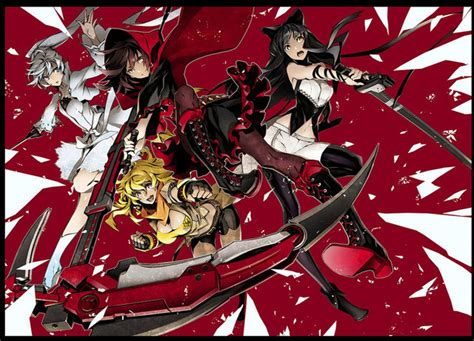rwby official anthology vol 2 mirror mirror crunchyroll shirow miwa to create quot rwby quot adaptation