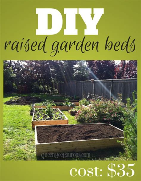 how to make a raised garden bed cheap 25 best ideas about cheap raised garden beds on pinterest