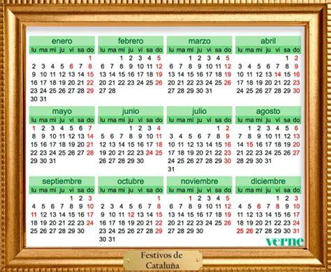 Calendario 2017 Con Festivos Nacionales Enmarcamos Los Calendarios De Festivos De 2017 Por