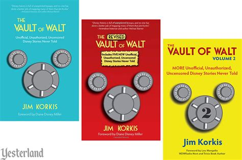 the vault of walt volume 6 other unofficial disney stories never told books book review at yesterland the vault of walt volume 2