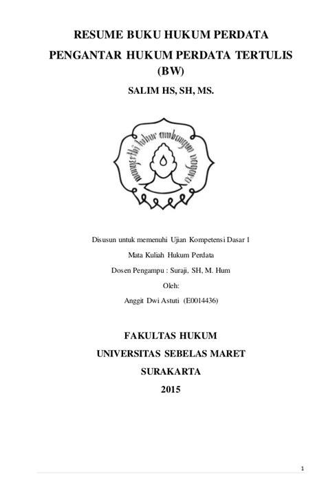 Buku Terlaris Asas Asas Hukum Pembuktian Perdata resume buku hukum perdata quot pengantar hukum perdata tertulis bw