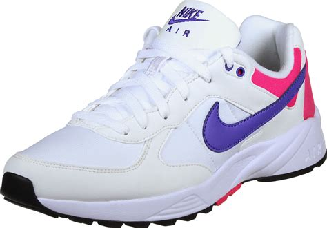 neon sneakers nike nike air icarus shoes white neon purple