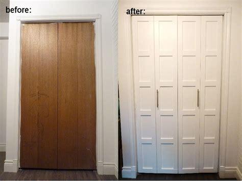 Decorative Bifold Closet Doors Wall Decorative Pieces Closet Bifold Door Makeover Diy Bifold Closet Doors Interior Designs