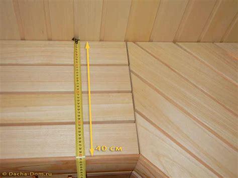 bench width sauna bench dimensions