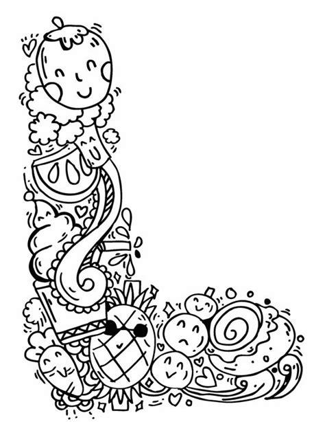 doodle name l alphabet quot l quot doodle elephant bell drawings