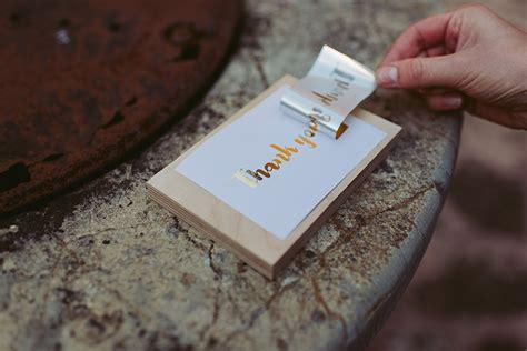Gold Folie Papier by Diy Papeterie Mit Goldener Transferfolie