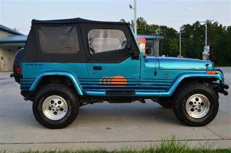 1991 jeep islander 1991 jeep wrangler islander restored new paint new