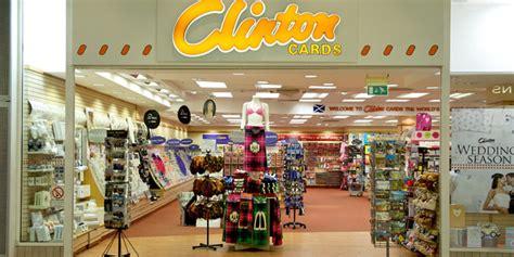 Clintons Gift Cards - shop at clinton cards 183 ocean terminal shopping centre edinburgh