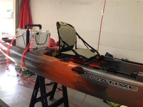 my new kayak and a few diy projects i found pic heavy kayak fishing fishing