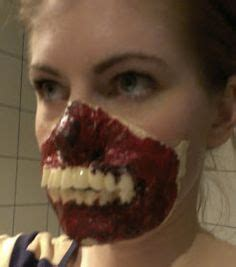 tutorial zombie latex horror makeup costumes and props on pinterest zombie