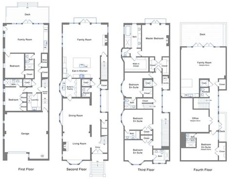 san francisco floor plans san francisco townhouse floor plans