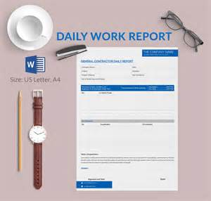 Production Progress Report Template Daily Report Template 25 Free Word Excel Pdf