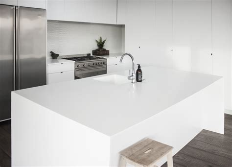 corian surfaces glacier white corian solid surface enhances family kitchen