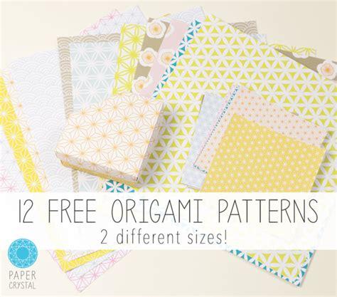 printable paper origami 12 free printable origami papers paper kawaii