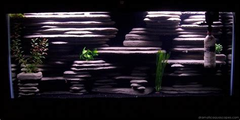 dramatic aquascapes diy aquarium background ryan