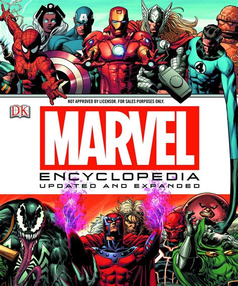 marvel encyclopedia marvel encyclopedia updated and expanded review
