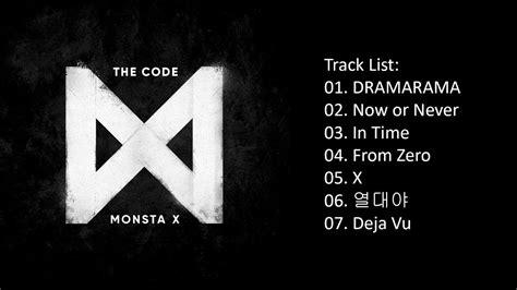 Monsta X The Code album monsta x the code 5th mini album