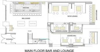 Nightclub Floor Plans Commercial Bar Floor Plans The Lakes Country Club On