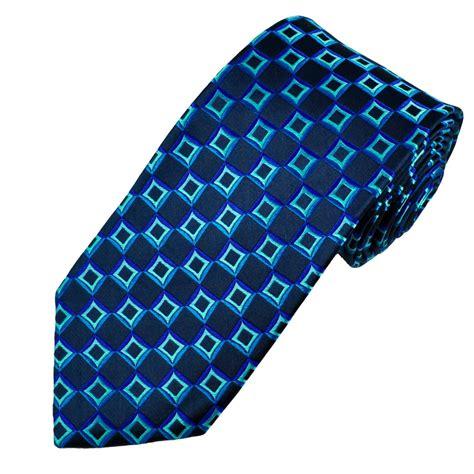 blue patterned ties navy blue square patterned men s silk tie from ties