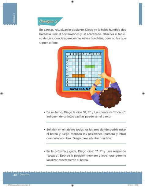 issuu libro de matemticas contestado desaf 237 os matem 225 ticos 6 176 grado para el alumno by escuelas