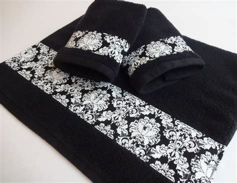 black bathroom towels black damask bath towels black damask black towels hand