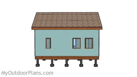 12x24 tiny house plans tiny house roof plans myoutdoorplans free woodworking