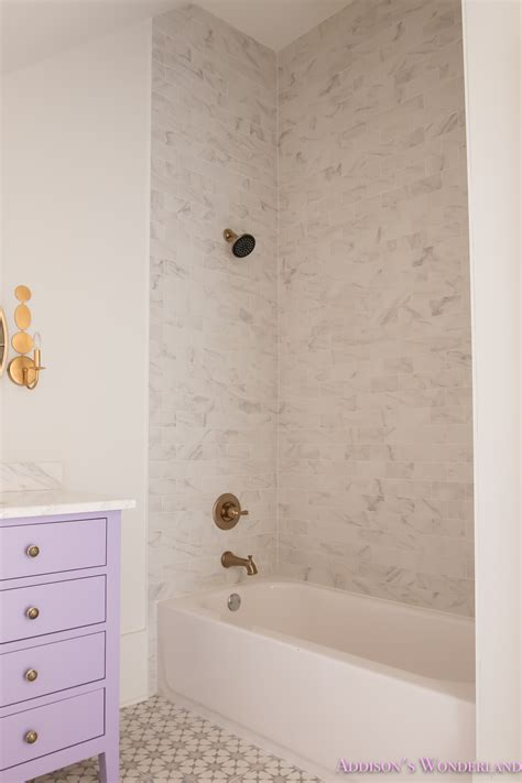 White Marble Subway Tile Bathroom by Marble Subway Tile Bathroom Tile Design Ideas