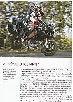 Motorrad Fahren Theorie by J 252 Rgen Mainx Perfekt Motorrad Fahren Fahrphysik In