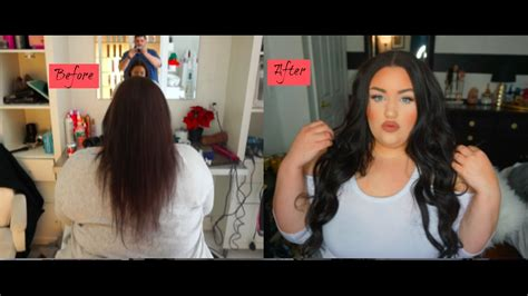 is sew hair extension strong enough for caucasian before after partial sew in hair extensions ft