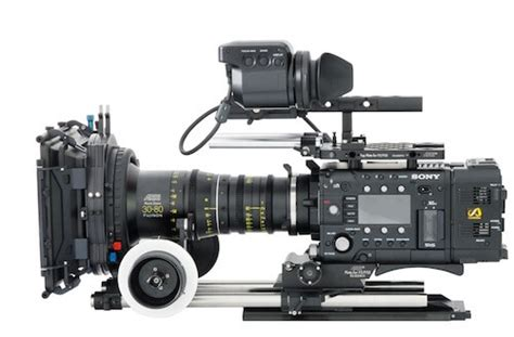 sony f55 workflow live production equipment integration experts