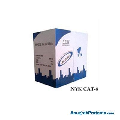 Kabel Lan Utp Cat 6 10mtr Nyk nyk utp cat 6 cable cable anugrahpratama