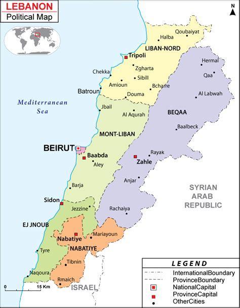 map world lebanon maps of lebanon bizbilla
