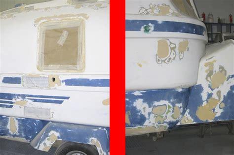 Wohnwagen Silber Lackieren by Suleica Caravan Ein Alter Wohnwagen Wird Neu Lackiert