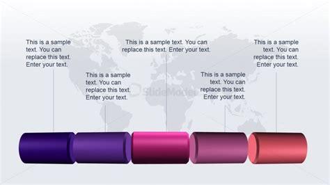3d pipeline graphic idea for powerpoint slidemodel