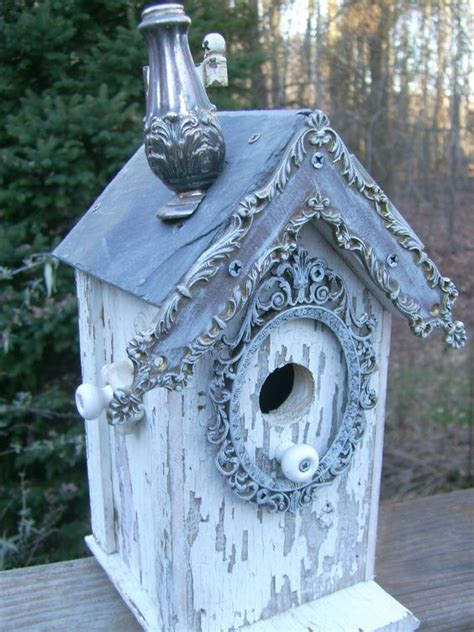 shabby chic bird pictures shabby chic birdhouse salt shakers and birdhouses on