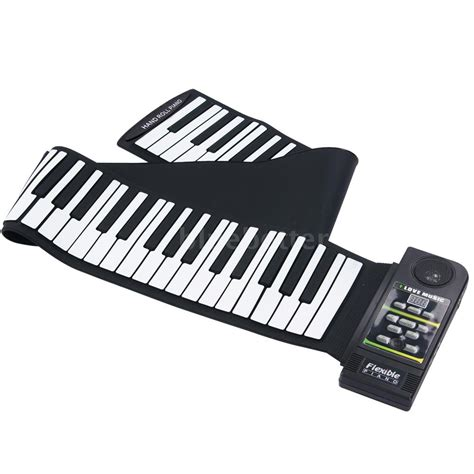 silicon 88 key piano keyboard roll up piano with