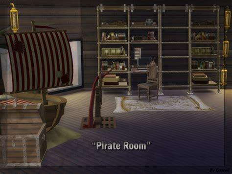 pirate bedroom furniture pirate room at gazoul 187 sims 4 updates