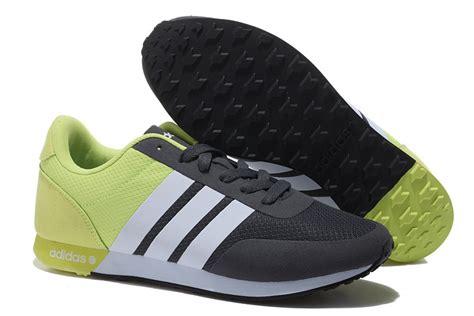 Adidas V Racer Black White s s adidas neo v racer tm apr running shoes