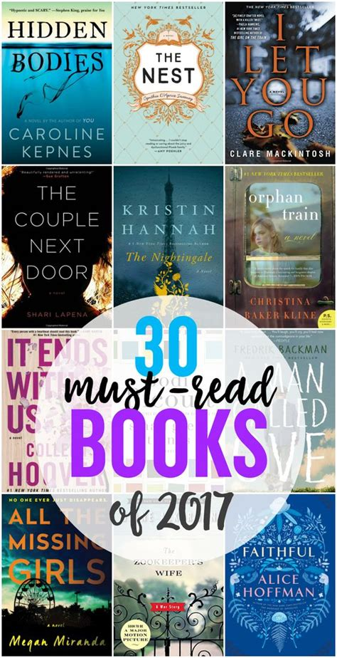 book best 30 must read books for 2017 best books to read in 2017