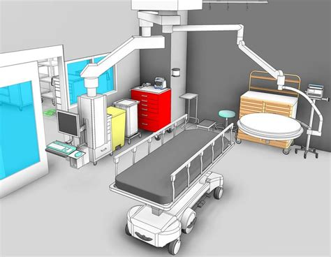 equipment used in the emergency room 1000 images about 3d revit images on equipment 3d and