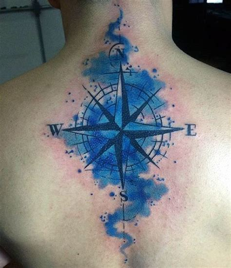 watercolor compass tattoo watercolor compass designs ideas and meaning