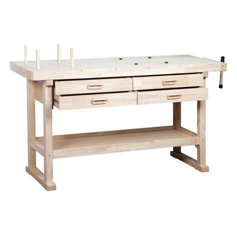 wood workbench  wood workbench   drawers
