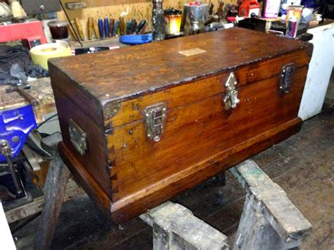 Tools For Furniture Restoration by Furniture Restoration Box Chest Furniture Before And