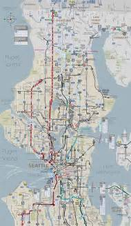 Seattle Metro Map by Seattle King County Public Safety Trunking System Seattle