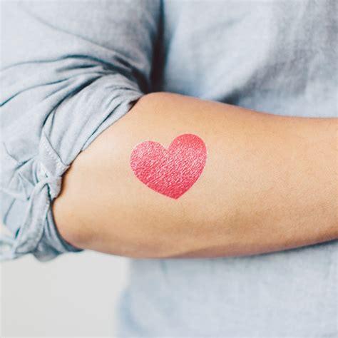 tattooed heart zing date night tattoos a cup of jo
