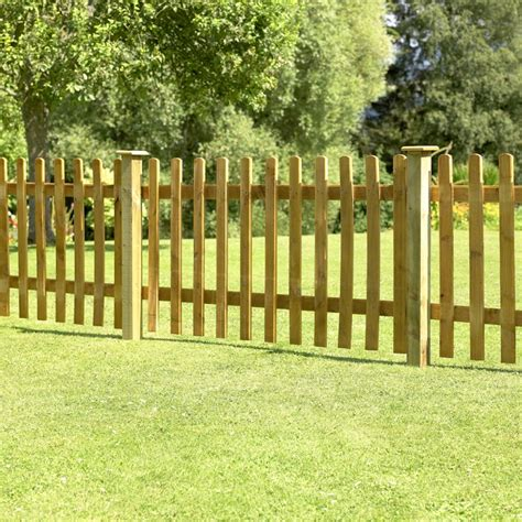 Forest Fencing Trellis Forest Palisade Fence Panel 1 2m High Buy Fencing Direct