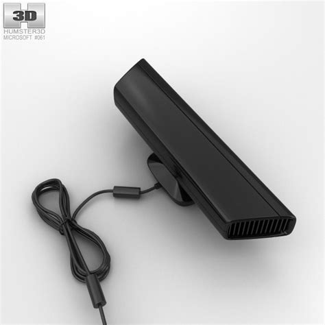 microsoft kinect 3d microsoft kinect for xbox 360 3d model hum3d