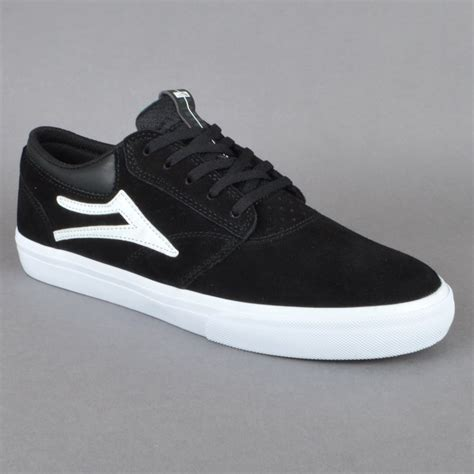 lakai shoes lakai griffin skate shoes black white suede lakai from