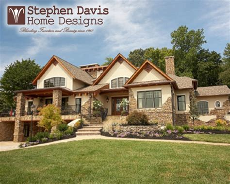 custom lake house plans custom lake house plans by stephen davis home designs norris lake tn