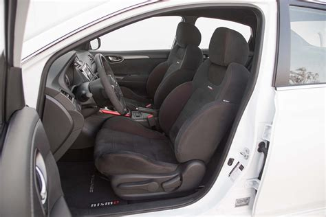 nissan sentra interior 2007 2017 nissan sentra nismo first test the return of the